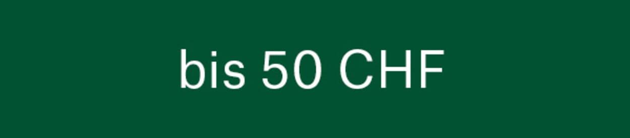 Geschenke bis 50 CHF