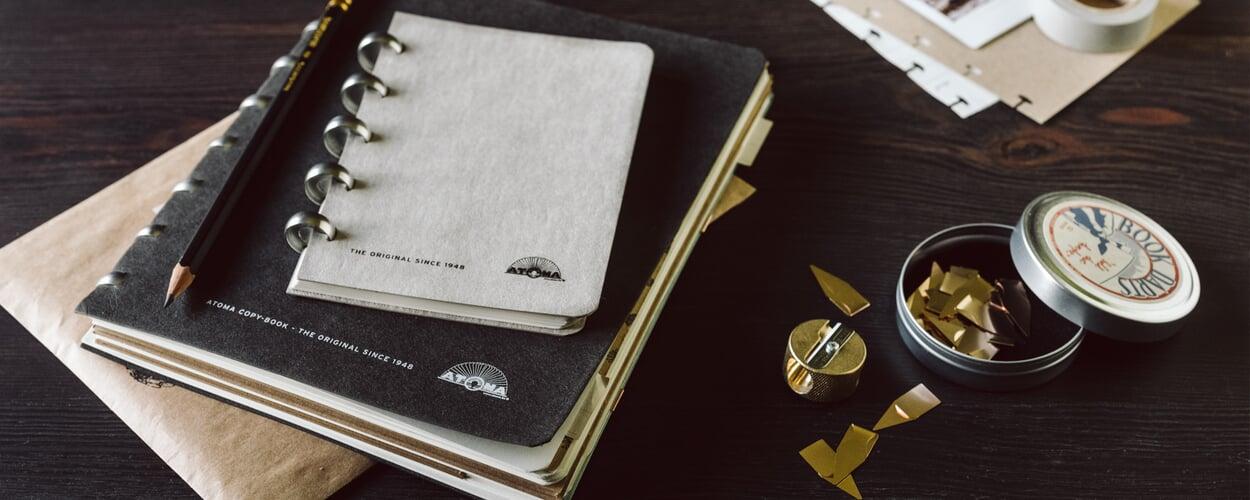 Atoma Notizbuch