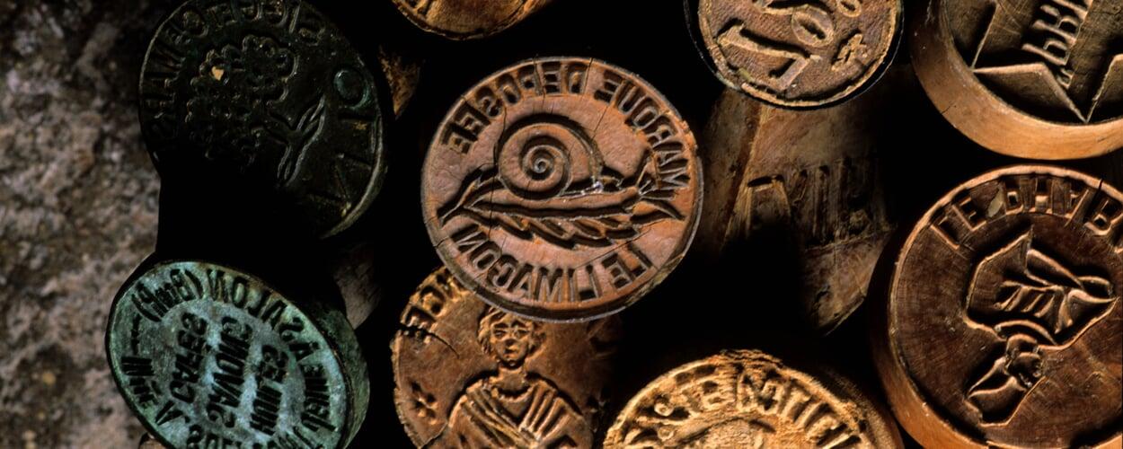 Alte Seifenstempel von Rampal