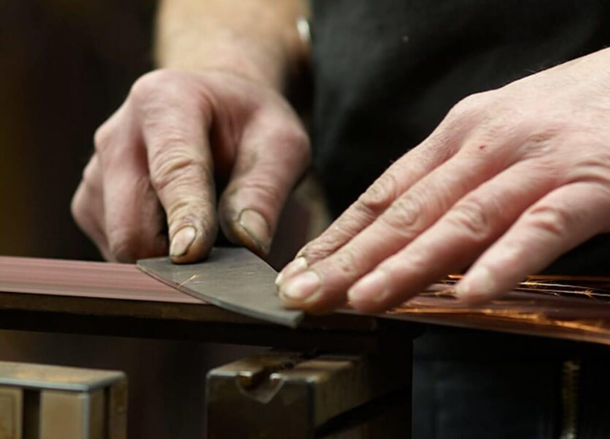 Hohenmoorer Messer. Meisterwerke mit Charakter