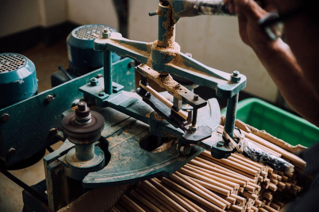In der Produktion