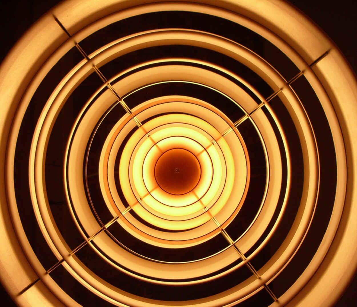 Die Spirale von unten
