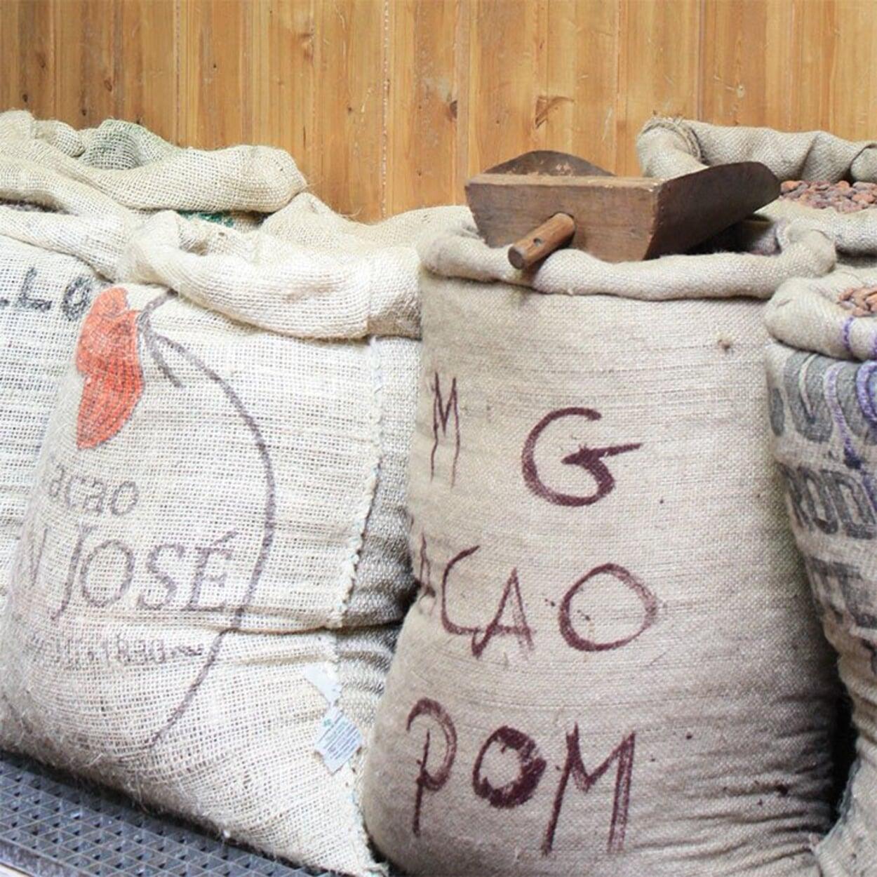 Kakaosorten bei Bonnat in Frankreich