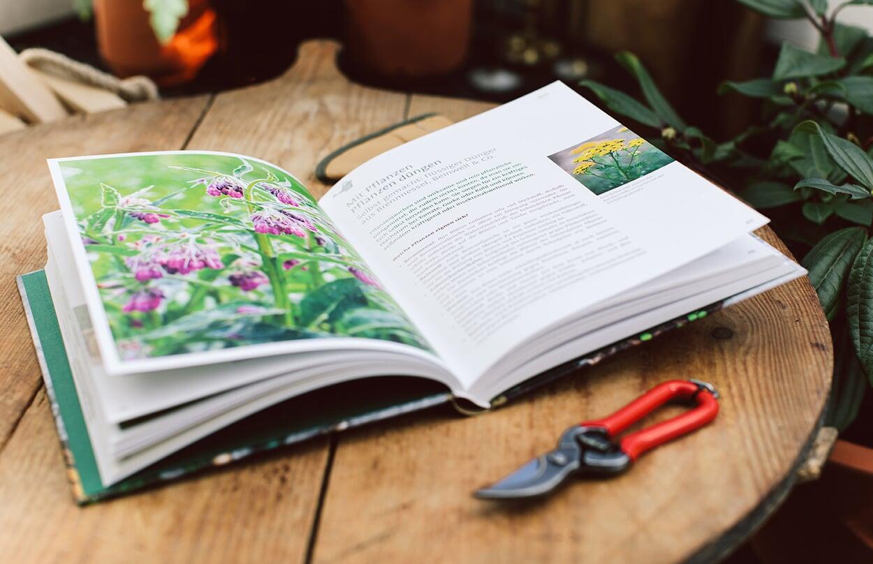 Gartenjahr Buch