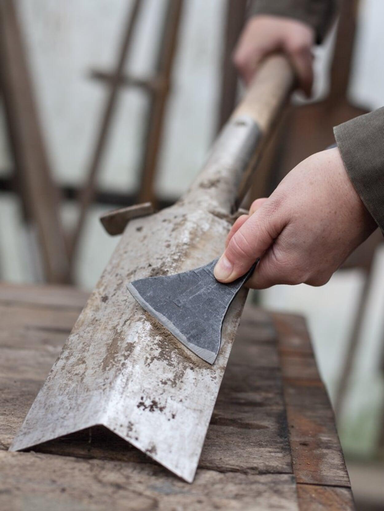 Werkzeug reinigen und pflegen