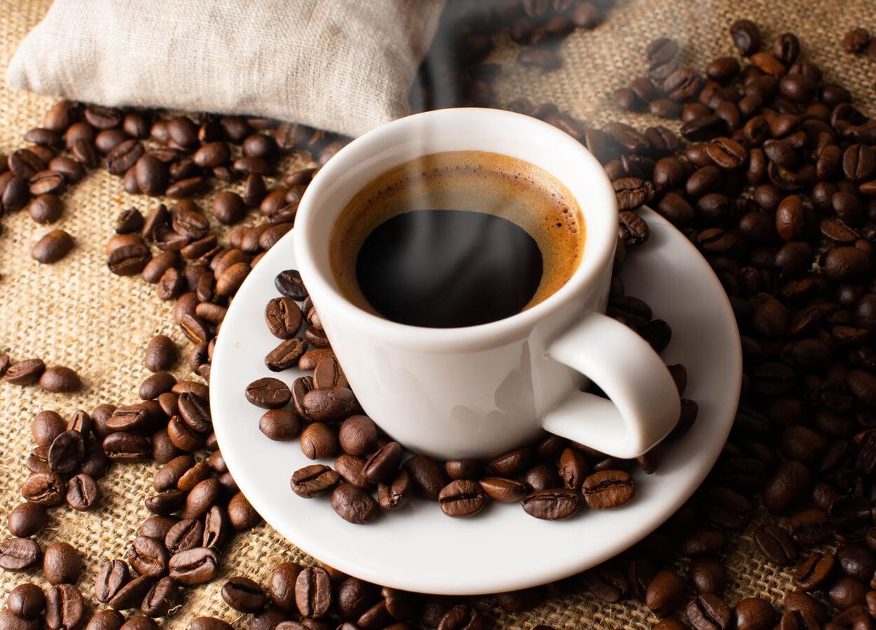Geröstete Trinci Espressobohnen