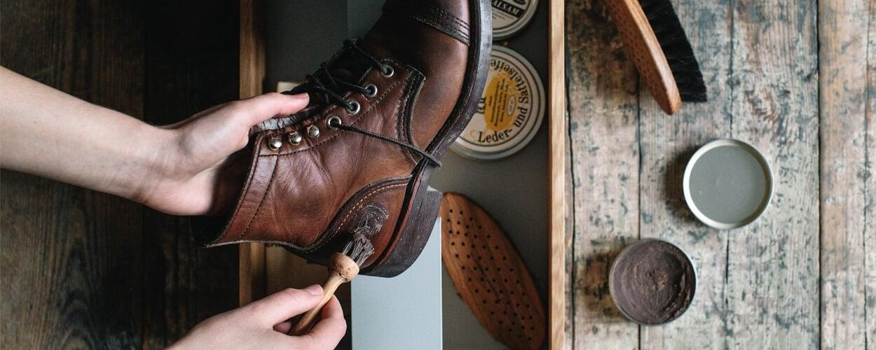 Anleitung zur Schuhpflege