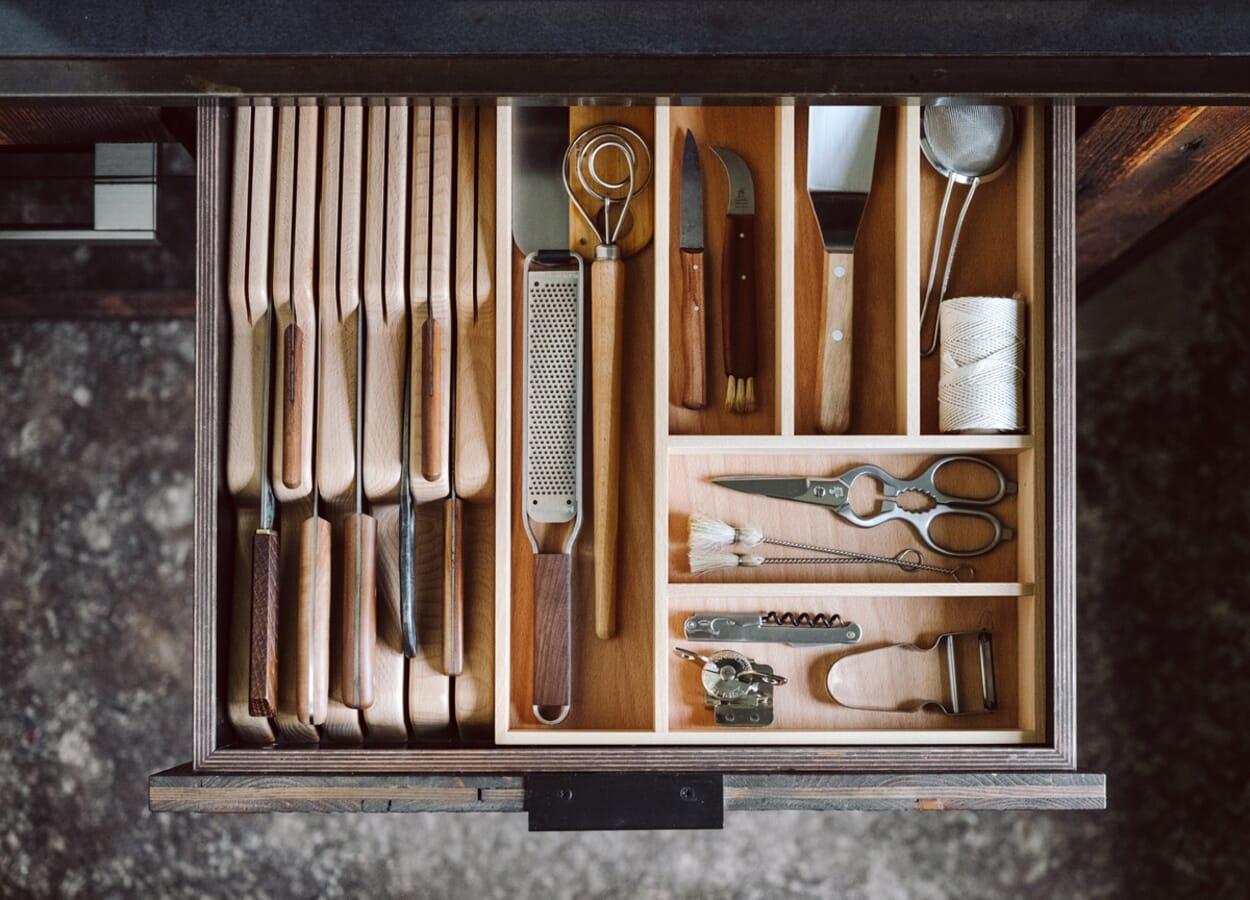 Ordnung im Küchenschrank