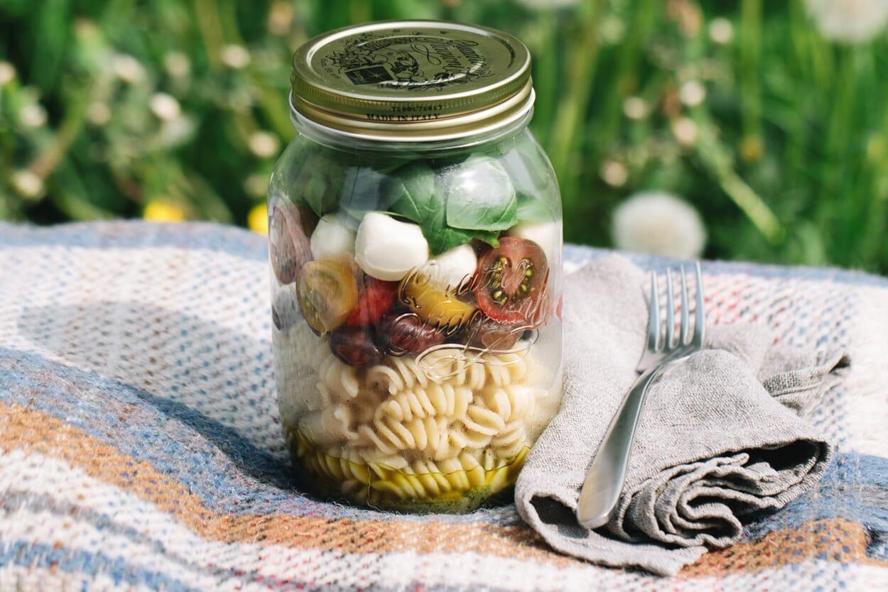 Mediterraner Picknicksalat