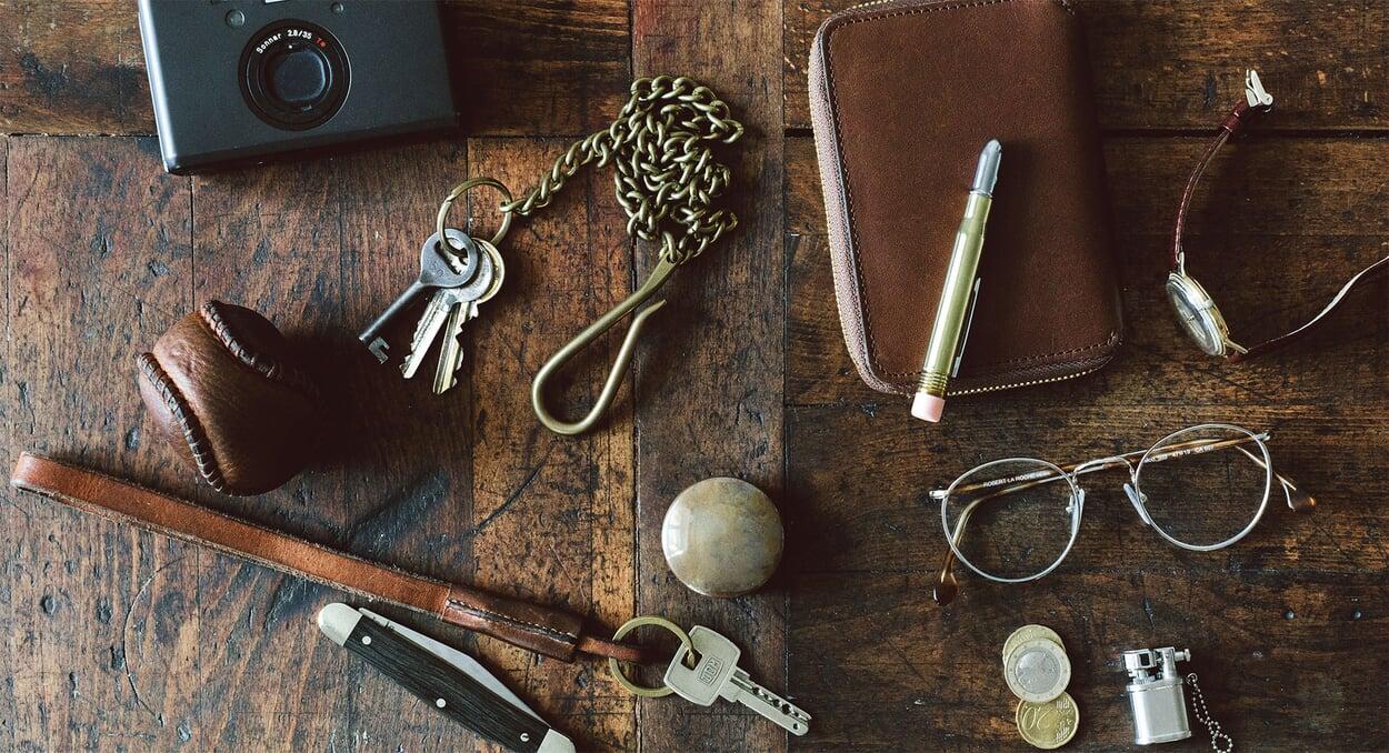 Everyday Carry Gegenstände