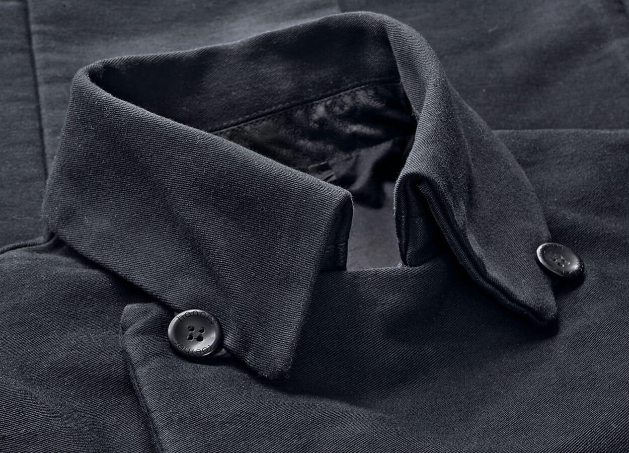 Herrenbekleidung aus Moleskin