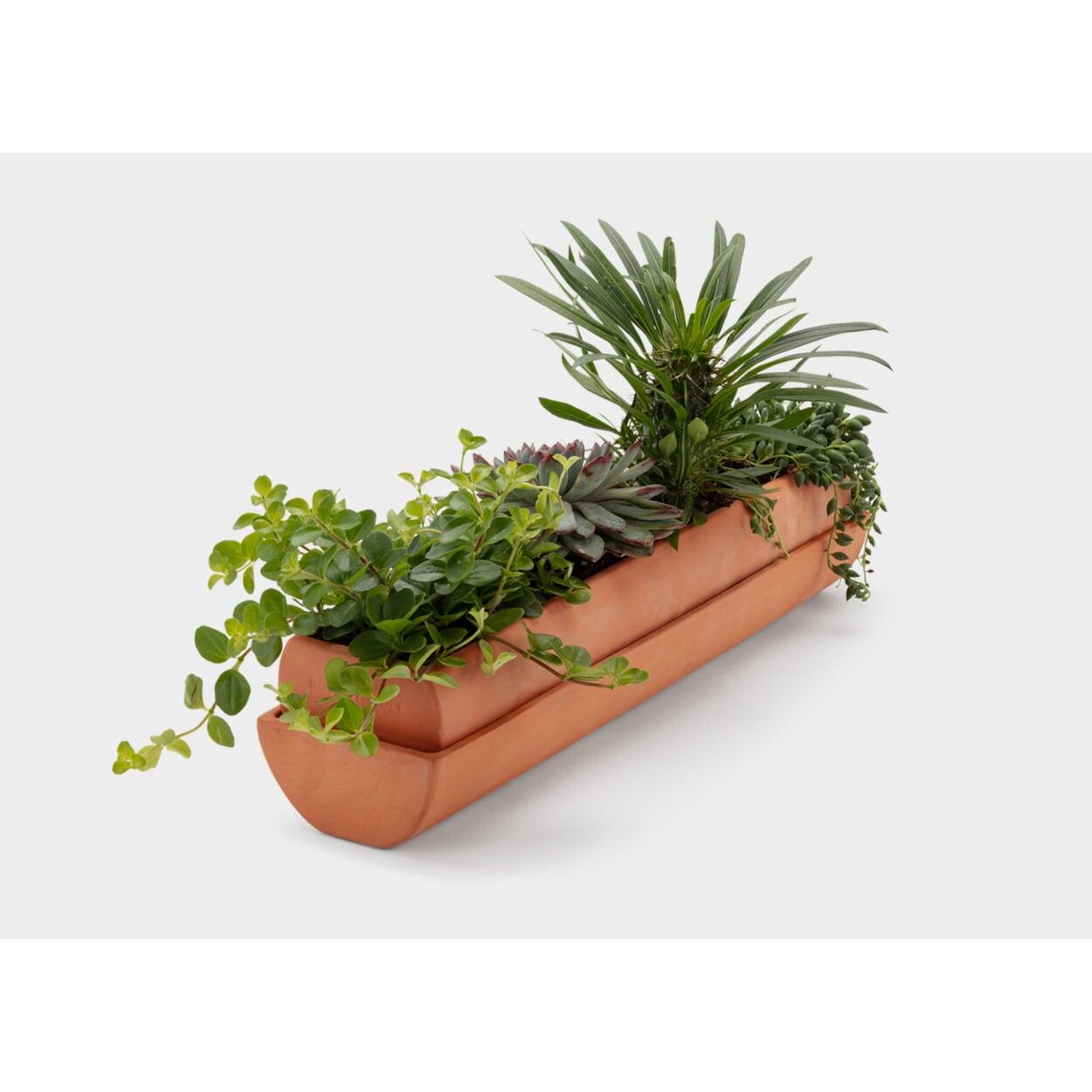 Pflanzgefäß zum Stellen und Hängen