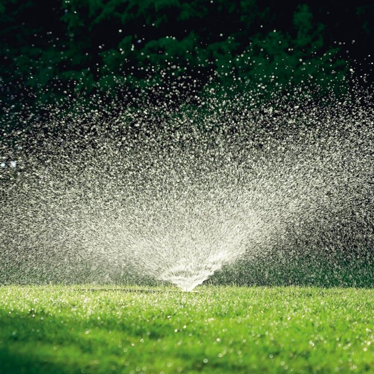 Abhängig von Größe und Ausrichtung der Rasenfläche den passenden Regner wählen