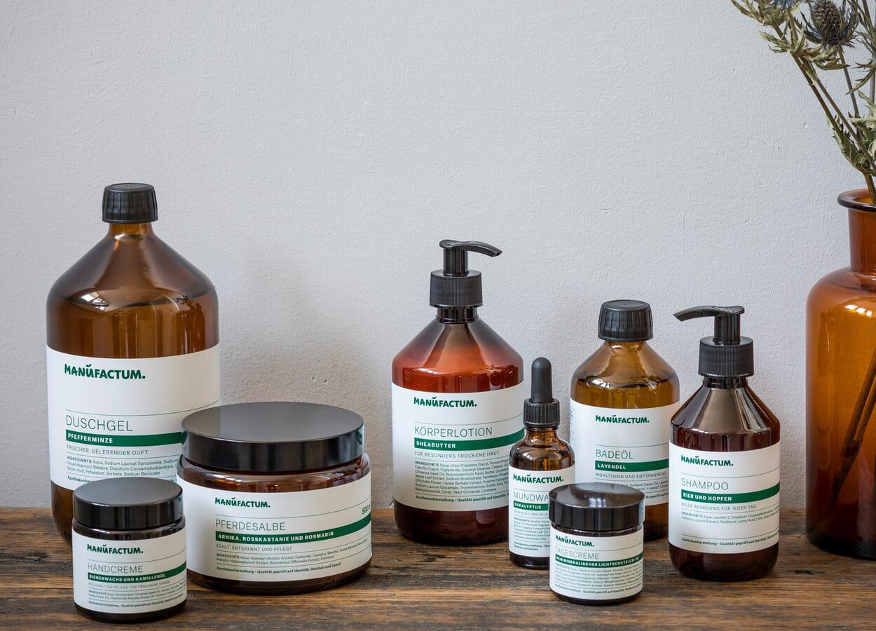 Manufactum Körperpflegeserie