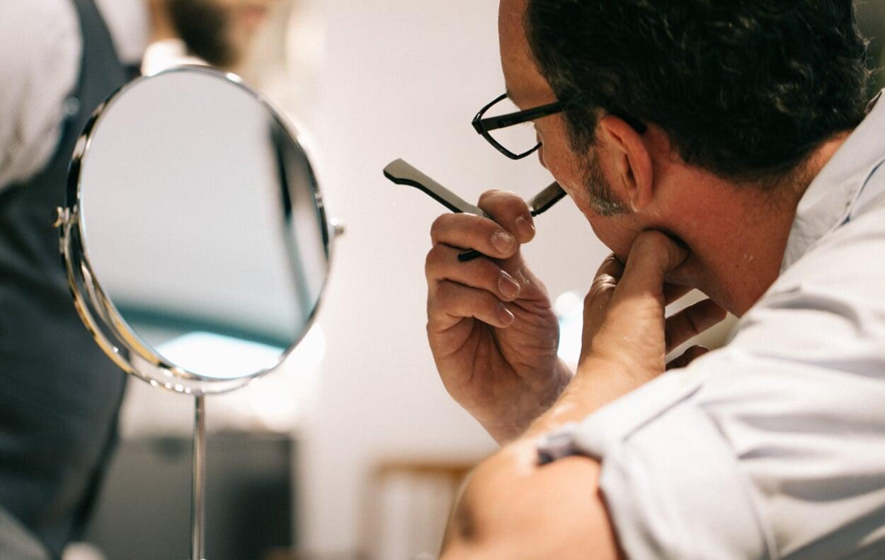 Shaving with Straight Razors