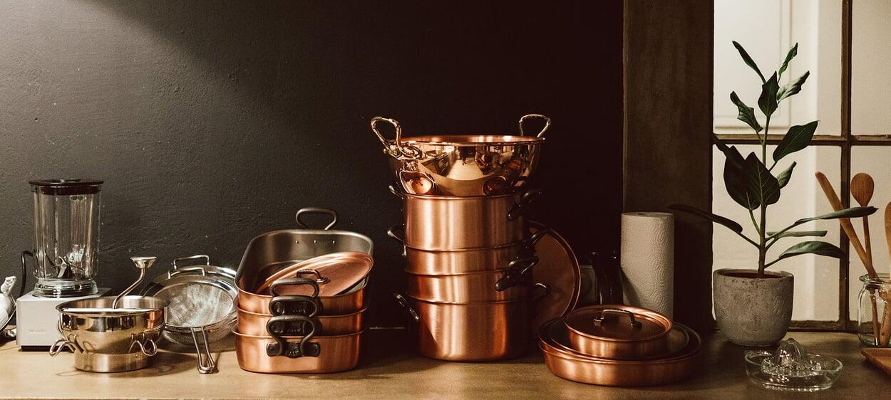 Kochzubehör Kupfer
