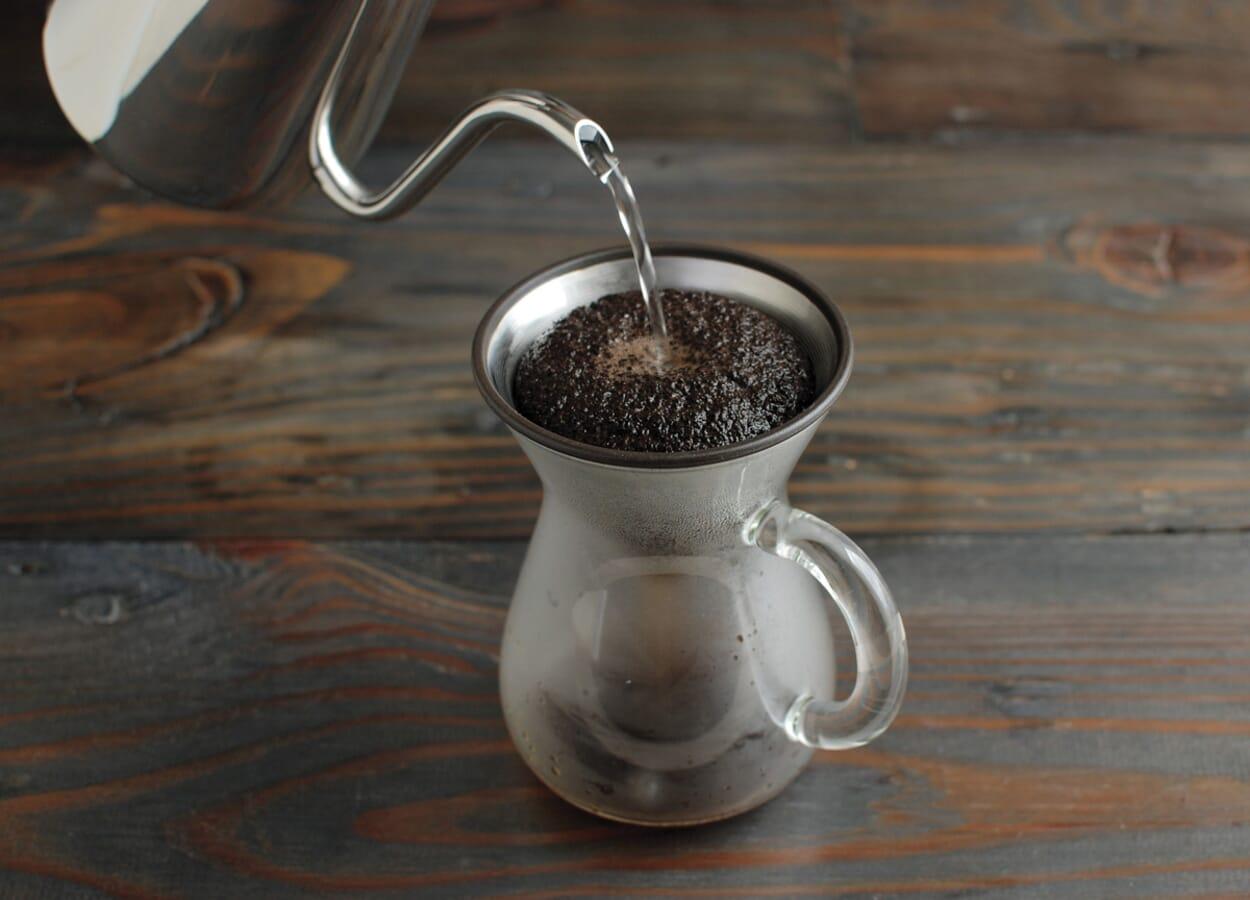 Kaffee kochen. Ganz ohne Druck