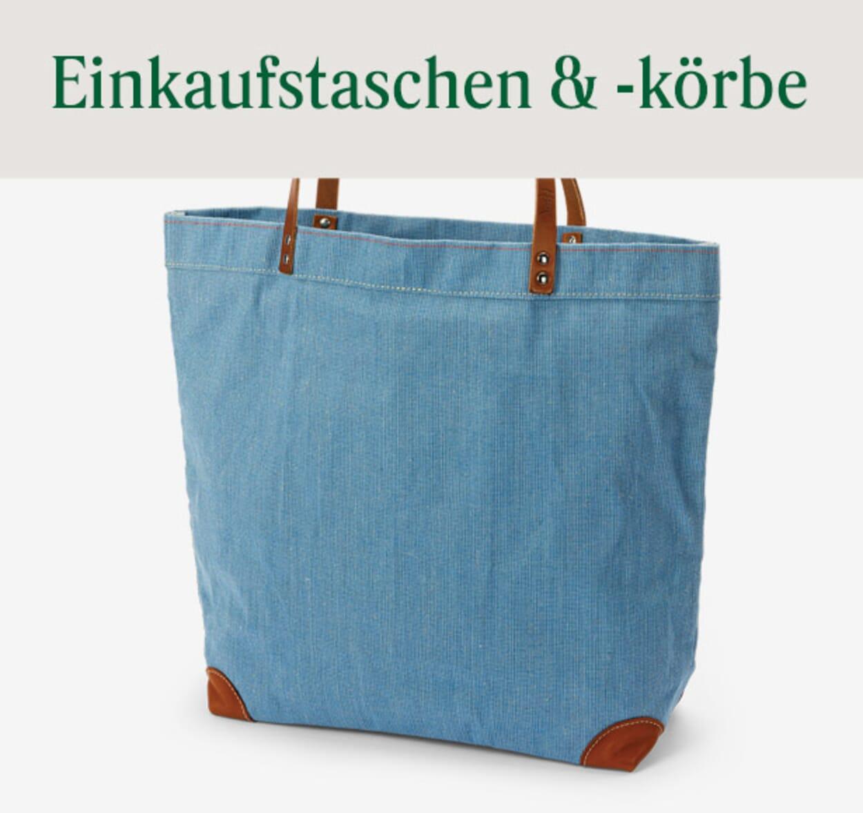Einkaufstaschen & -körbe