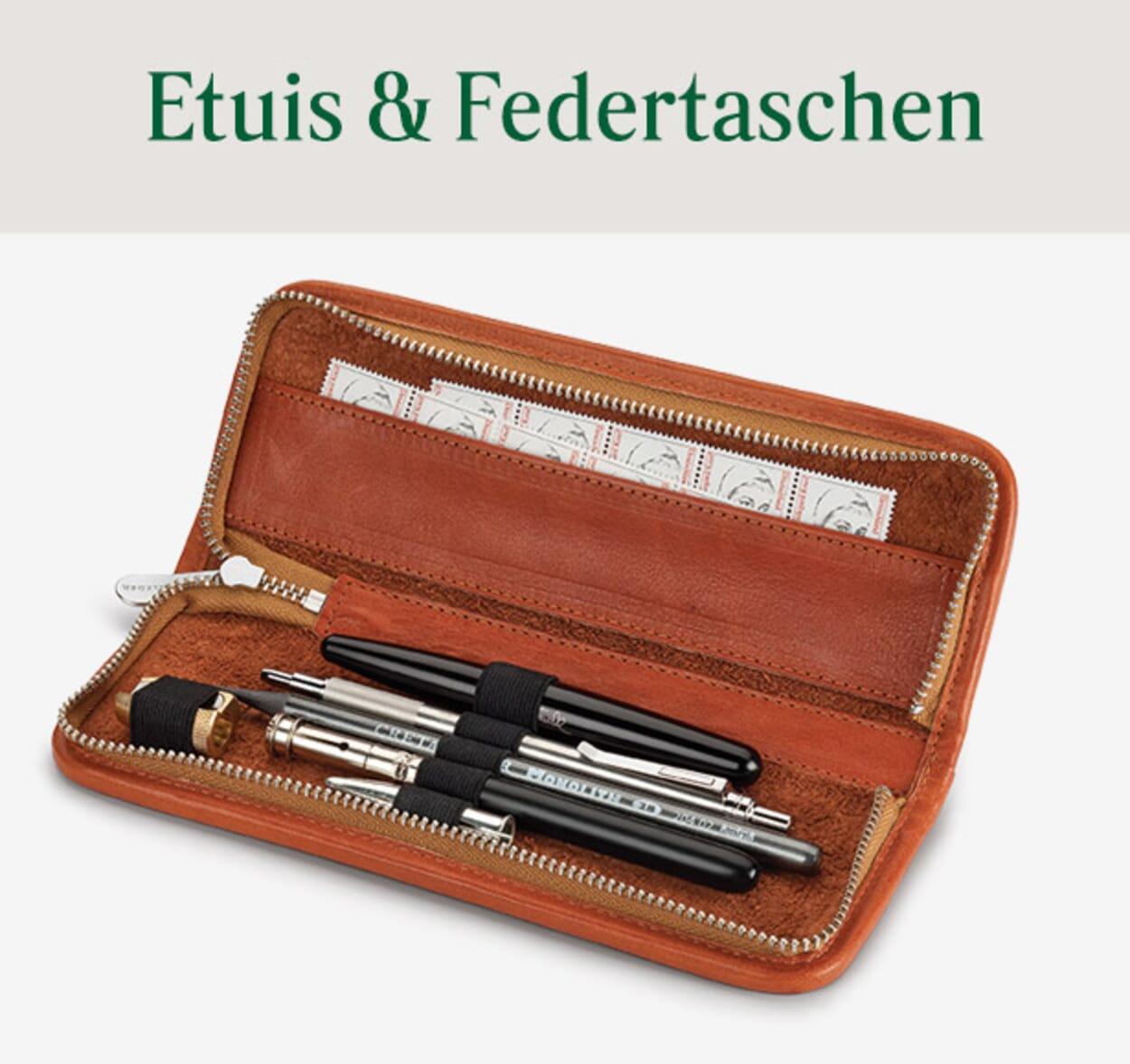 Etuis & Federtaschen