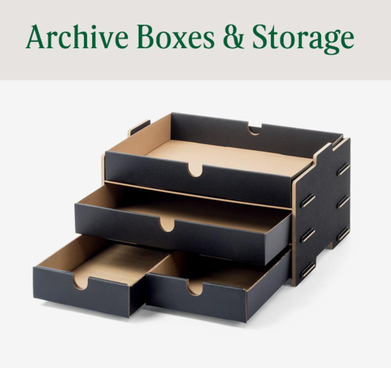 Archive Boxes & Storage