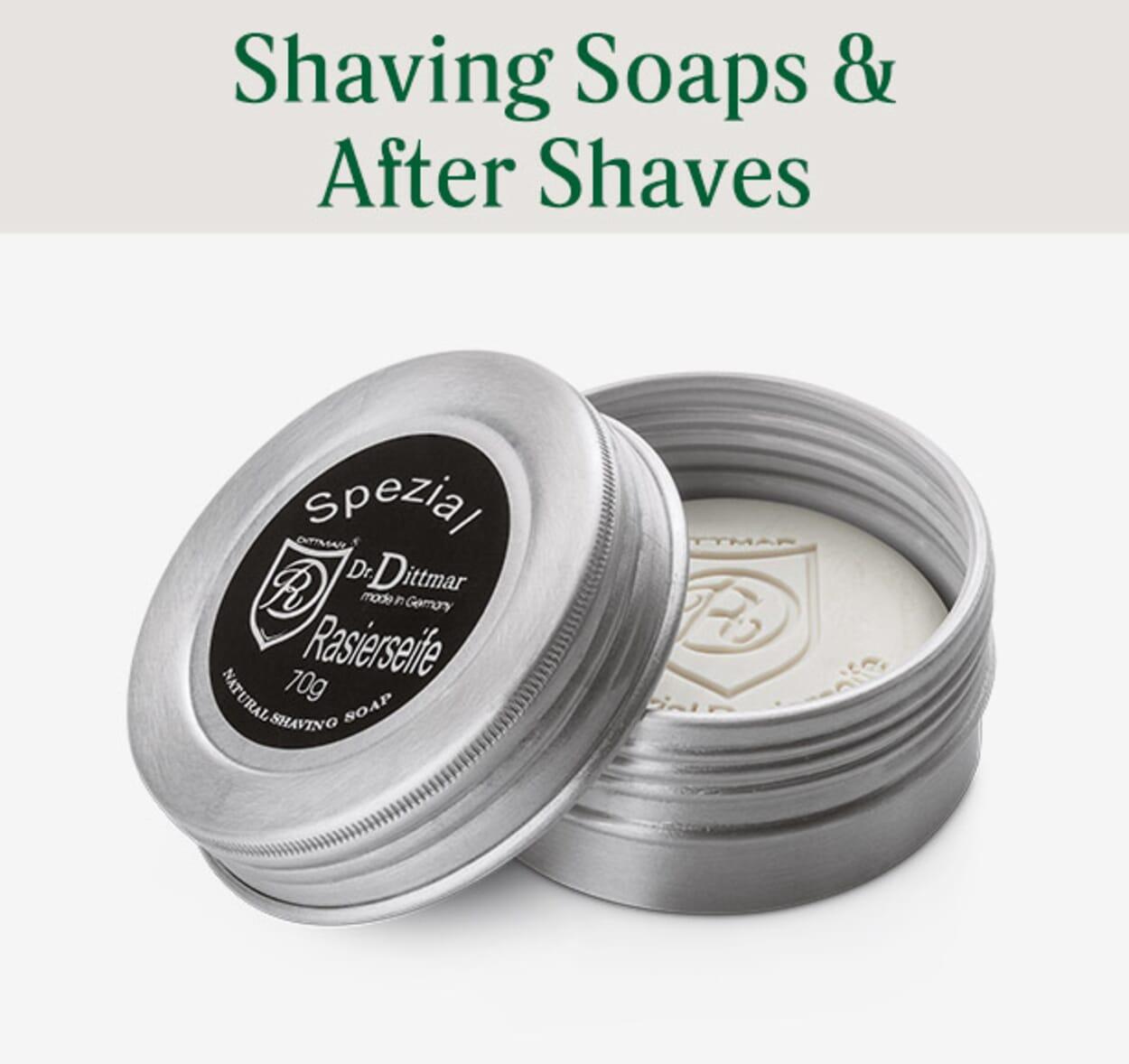 Shaving Soaps & After Shaves