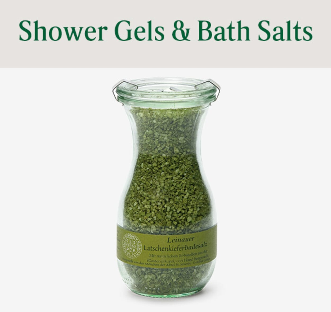 Shower Gels & Bath Salts