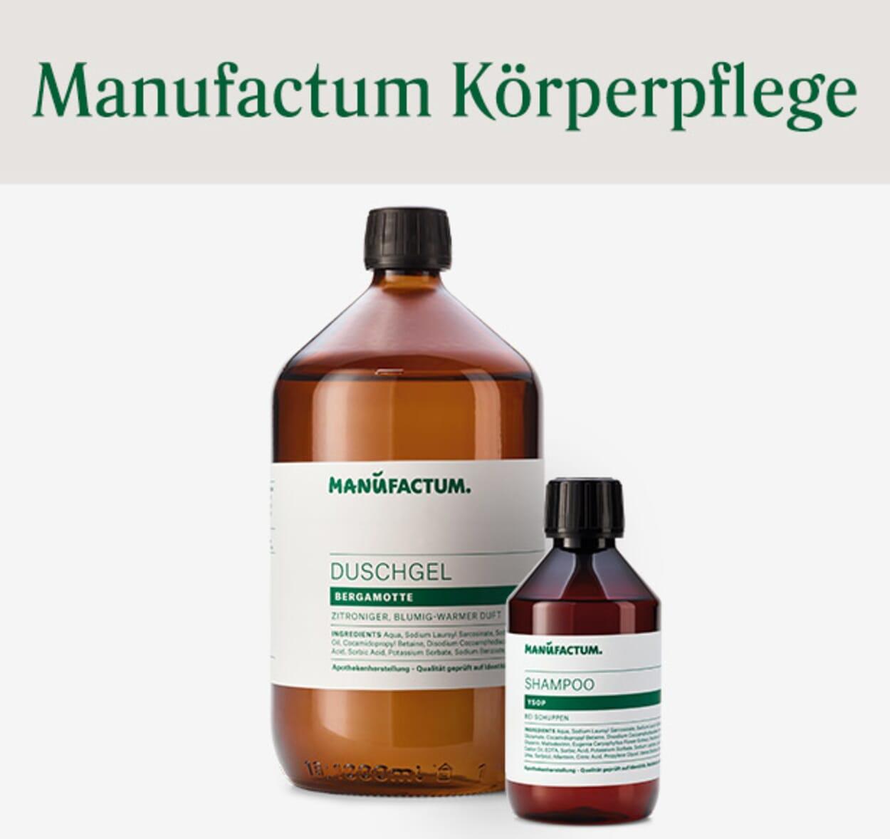 Manufactum Körperpflegeprodukte