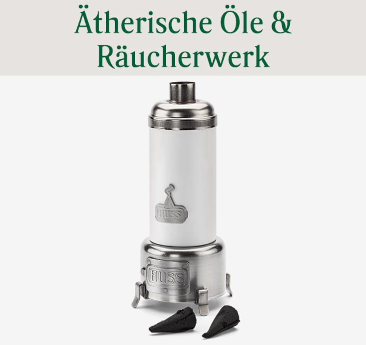 Ätherische Öle & Räucherwerk
