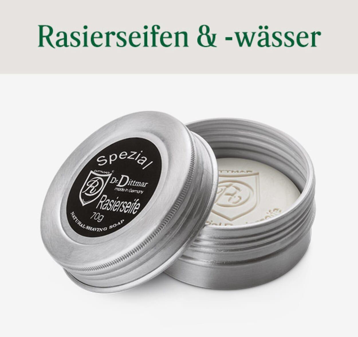 Rasierseifen & Rasierwasser