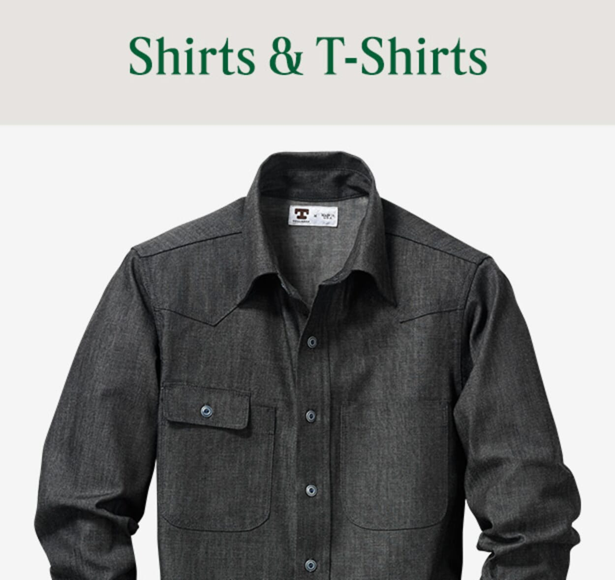 Mens Shirts & T-Shirts