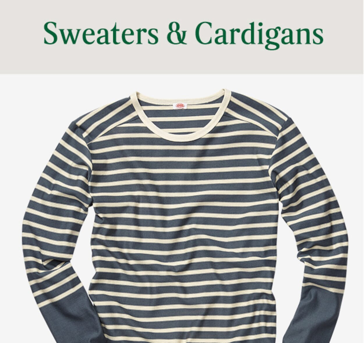 Mens Sweaters & Cardigans