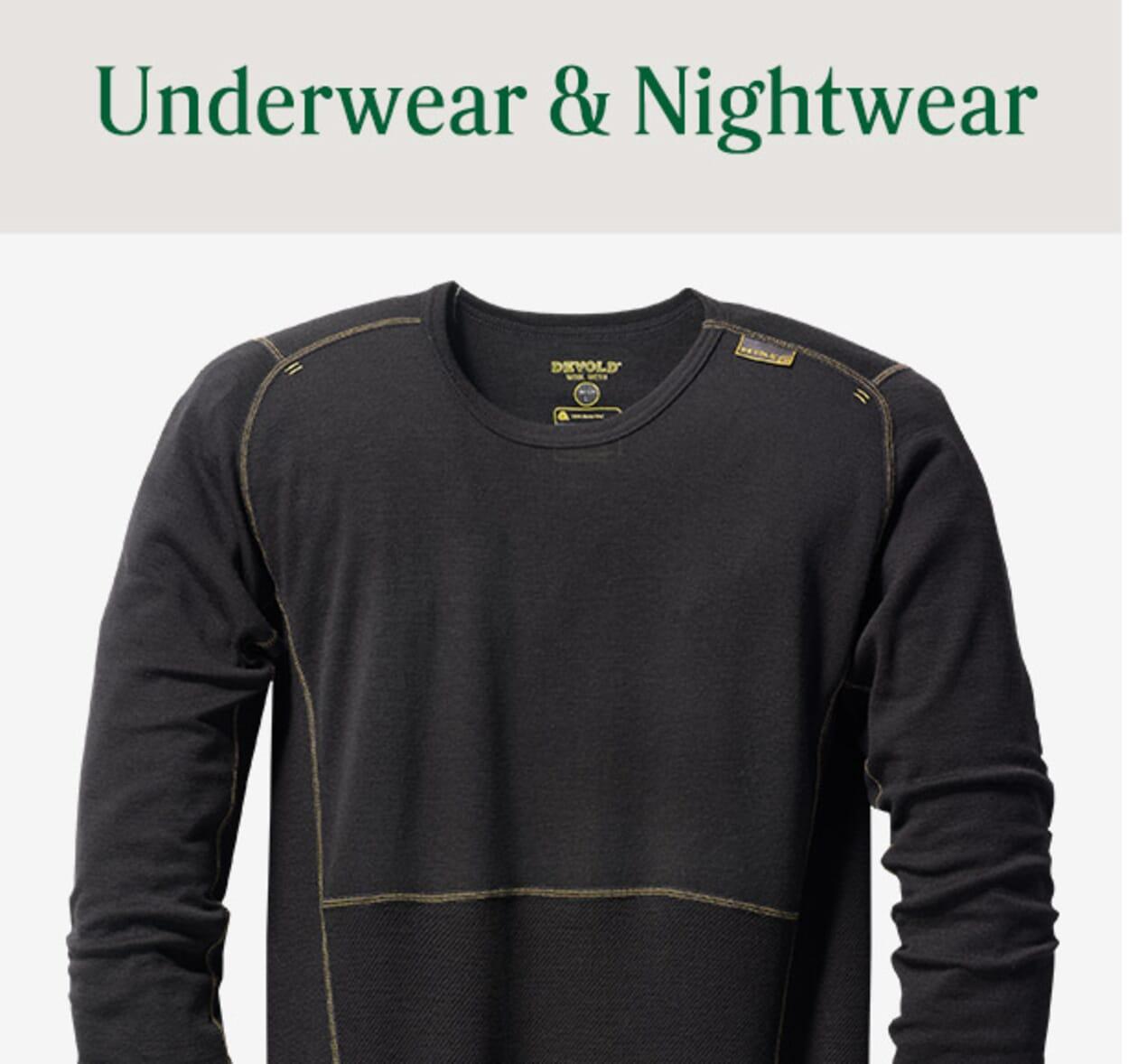 Mens Underwear & Nightwear