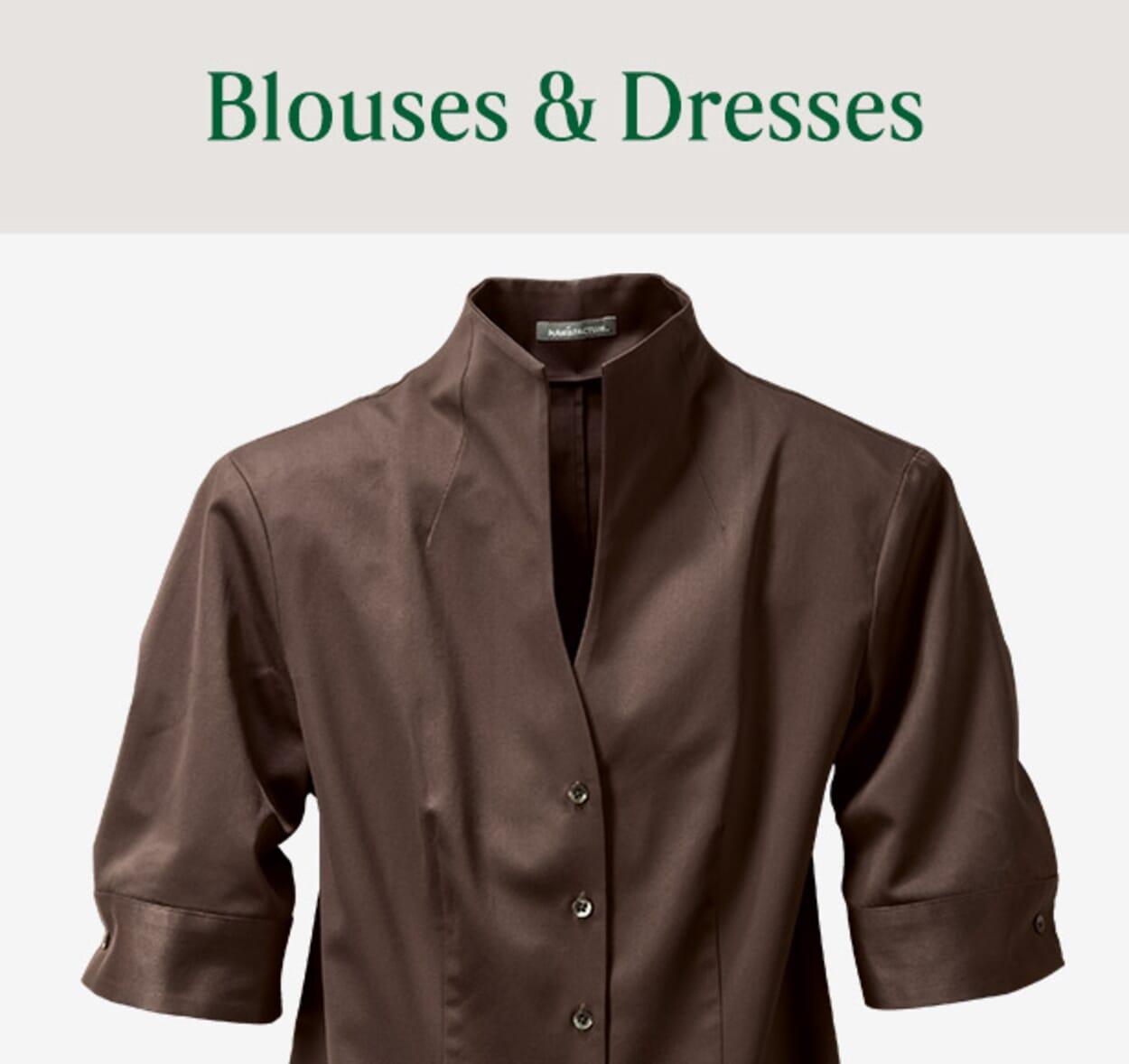 Womens Blouses & Dresses