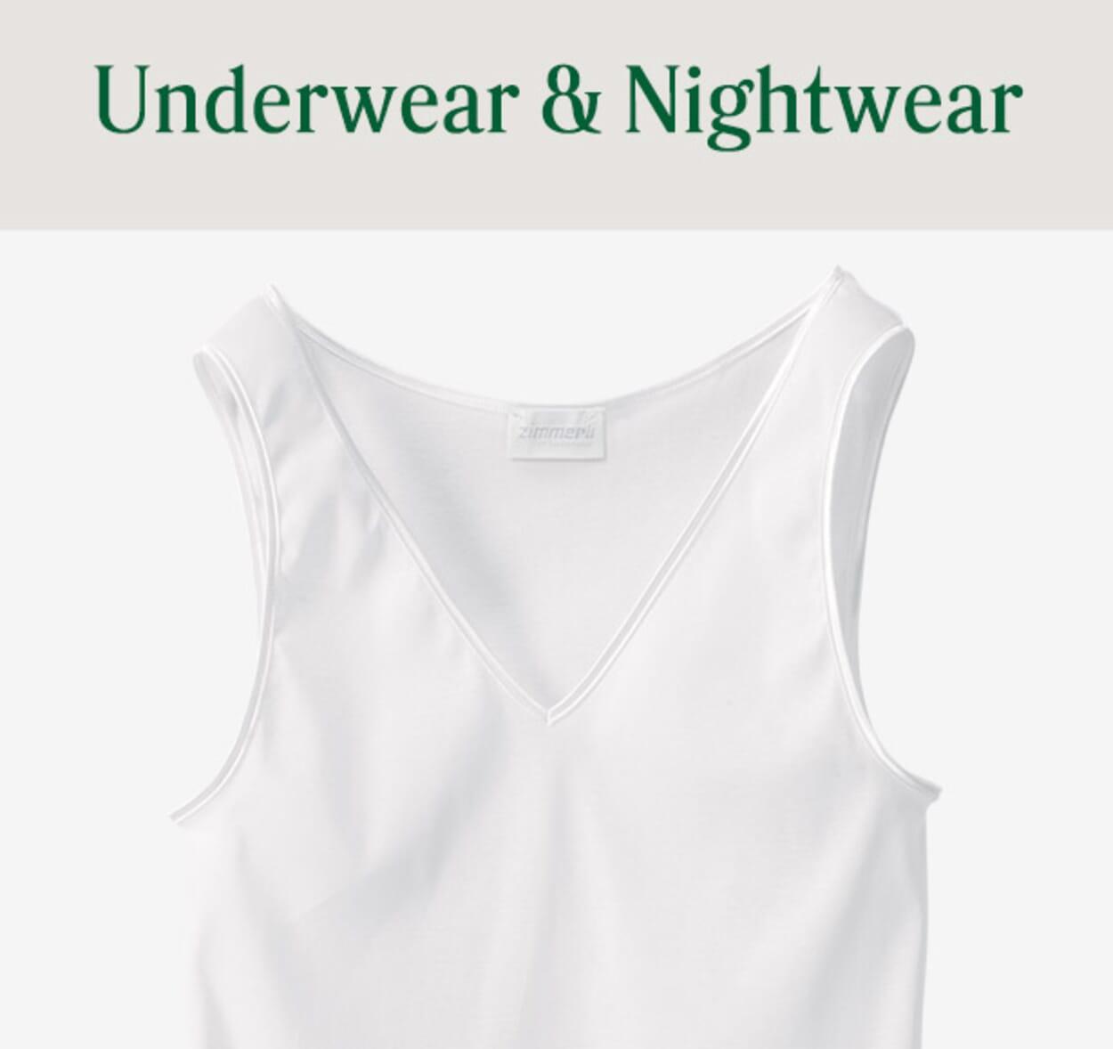 Womens Underwear & Nightwear