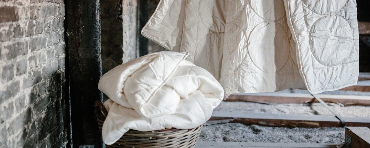 Bettwaren für den Winter