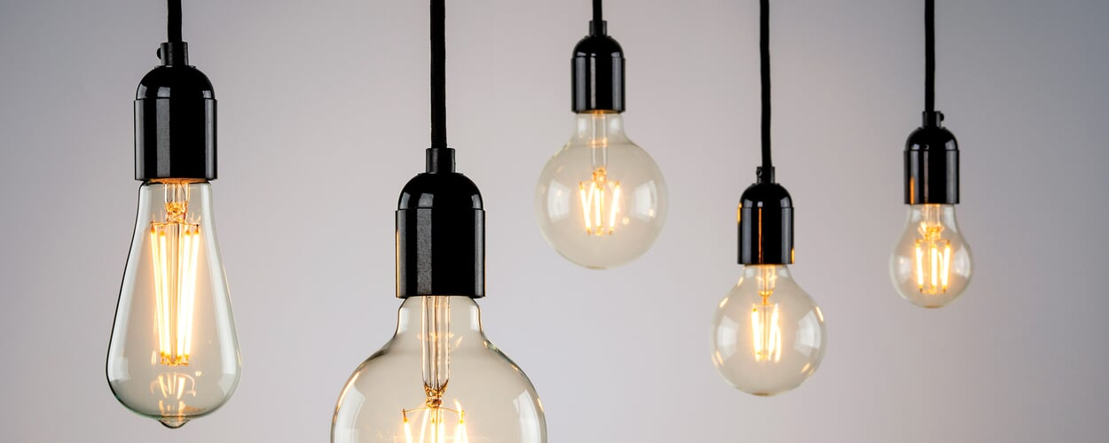 Die LED-Filamentlampe
