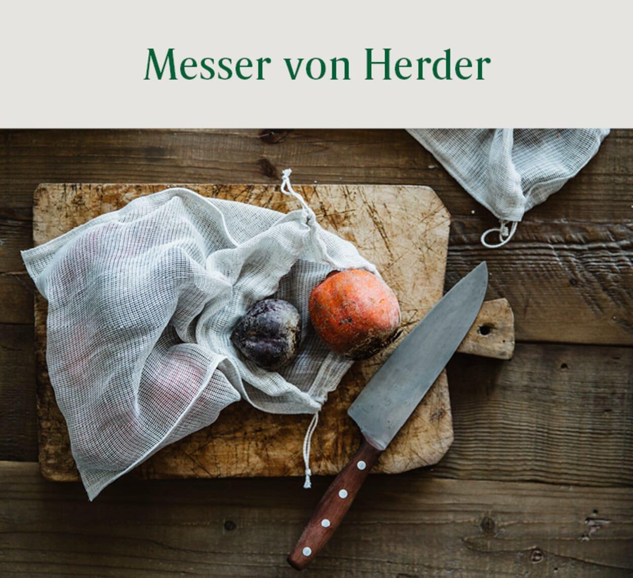 Messer von Herder