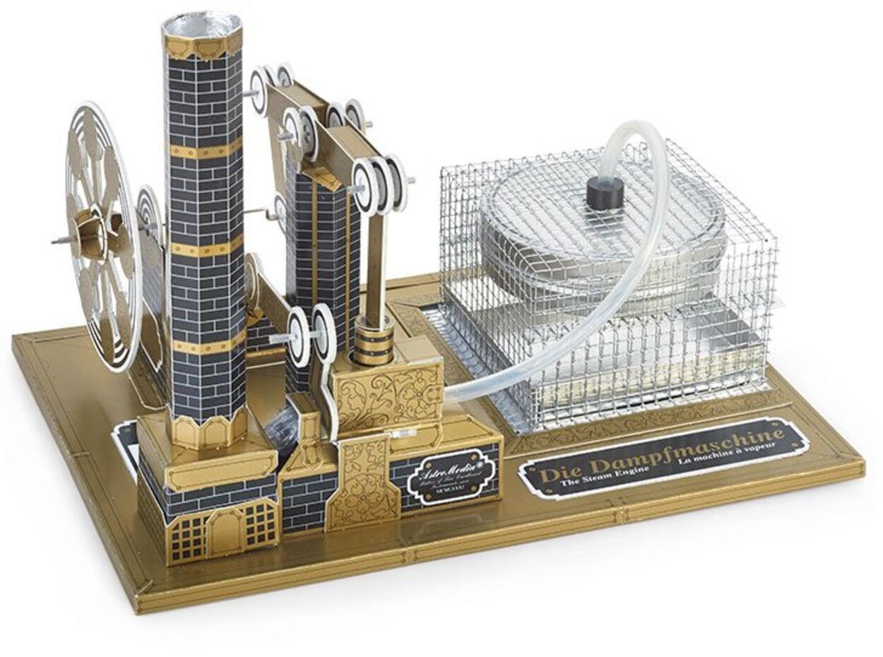 AstroMedia Dampfmaschine Bausatz