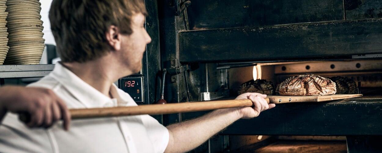 Backstube der Manufactum Bäckerei
