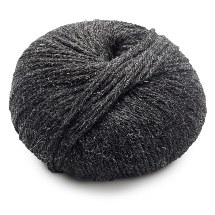 Thick Knitting Yarn Babyalpaca, Anthracite