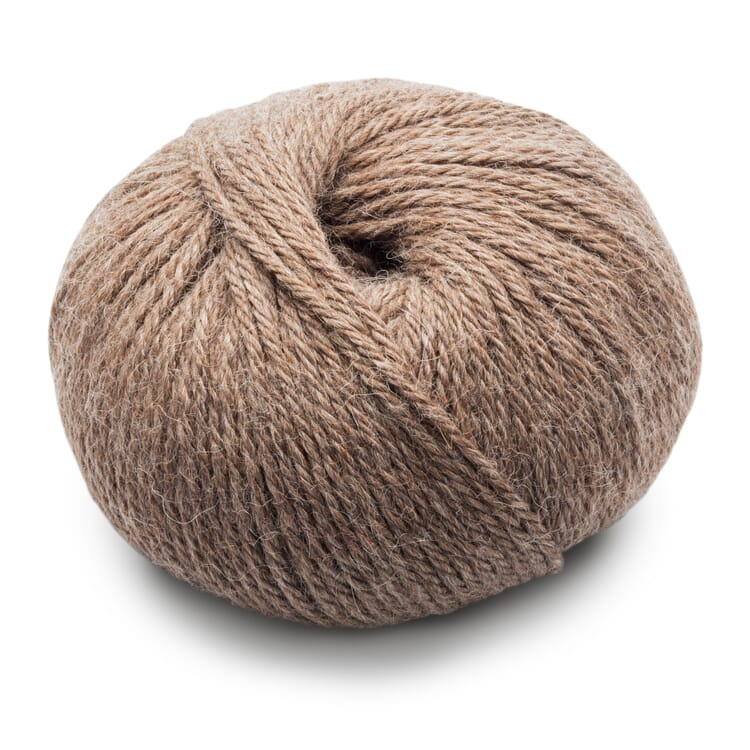 Thick Knitting Yarn Babyalpaca, Beige