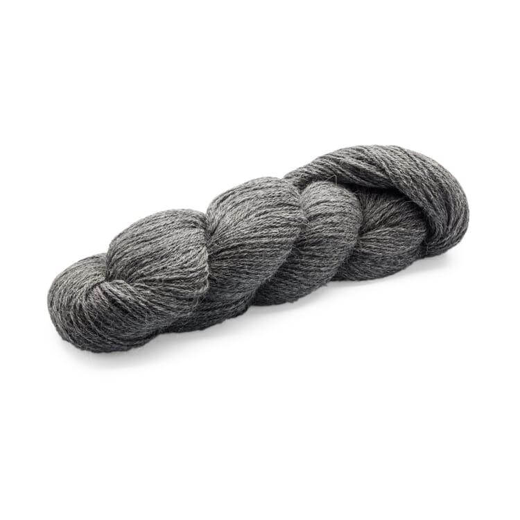 Fine Knitting Yarn Alpaca, Charcoal