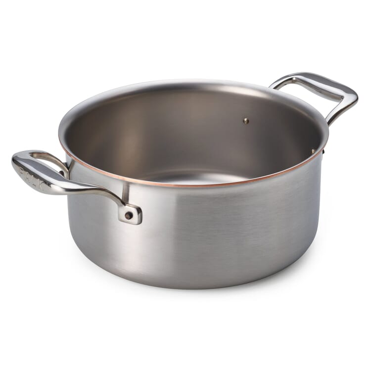 Casserole with Copper Core, Large