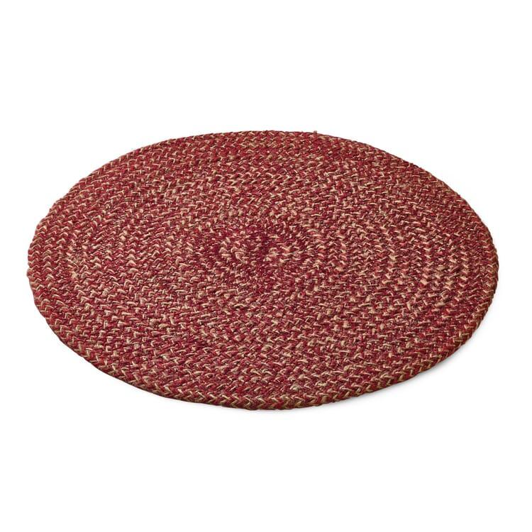 Tischset Jute, Rot