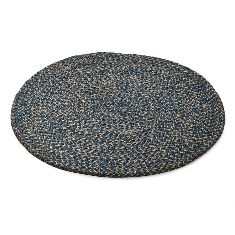 Tischset Jute, Blau