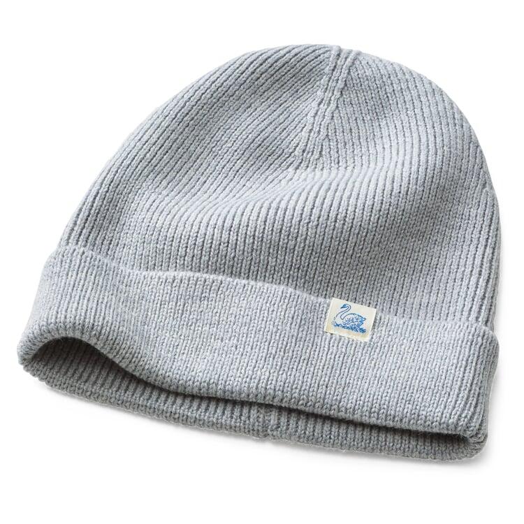 Merz beim Schwanen Merino Wool Knit Cap Grey