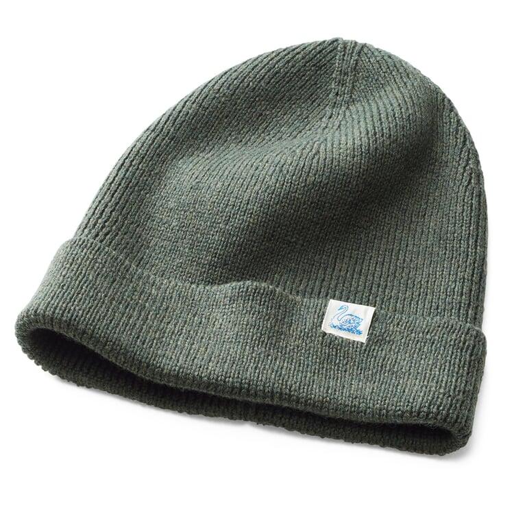 Merz beim Schwanen Merino Wool Knit Cap Green
