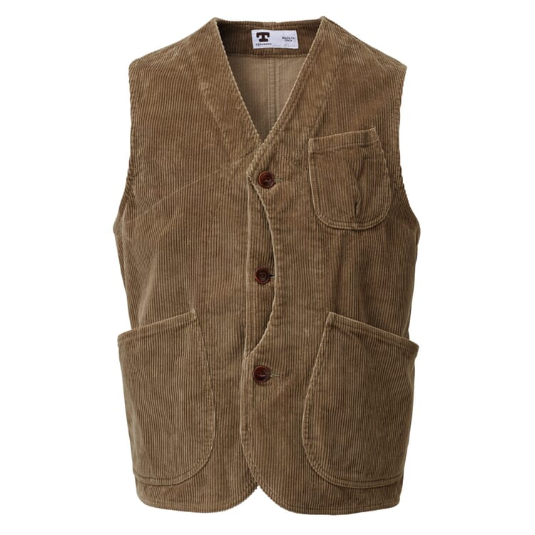 Men's Corduroy Vest