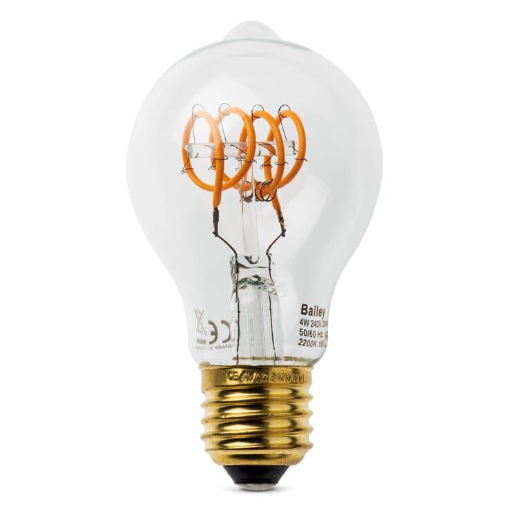 LED Filamentlampe Spiralfaden, Birne