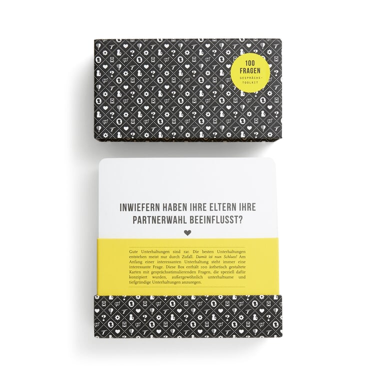 Karten-Set 100 Fragen-Original